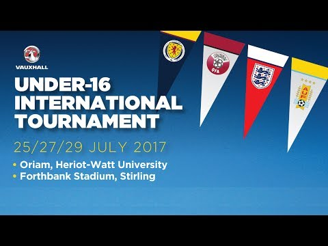 U16s | Scotland v Qatar Full Match - International Tournament