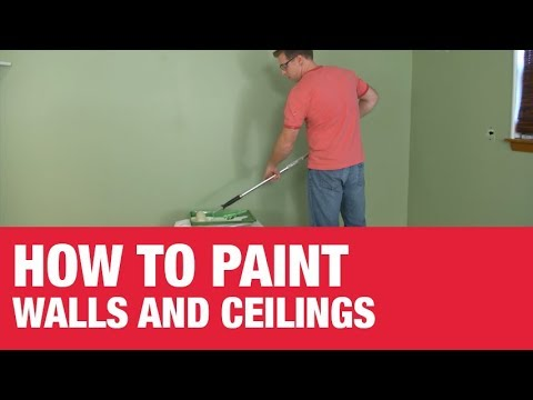 How To Paint Walls And Ceilings Ace Hardware