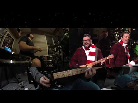 I Wish It Was Christmas Today SNL Drum/Guitar Cover