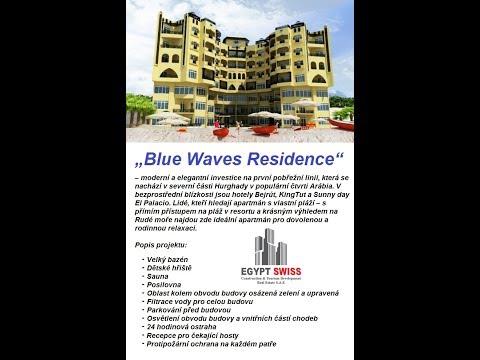 """""""Blue Waves Residence"""" s bazénem a vlastní pláží v lokalitě Arabia - Hurghada (Egypt)"""