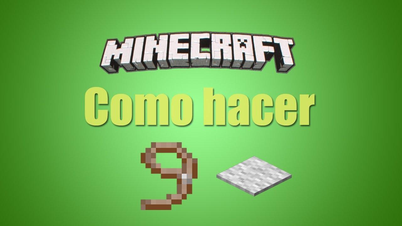 Minecraft Tutorial Guía De Crafteos Como Hacer Una Correa Y Alfombras