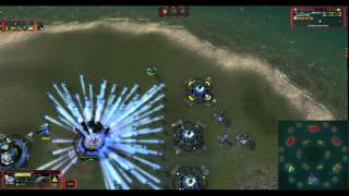 The Expansionist vs The Ecowhore! - Supreme Commander Forged Alliance