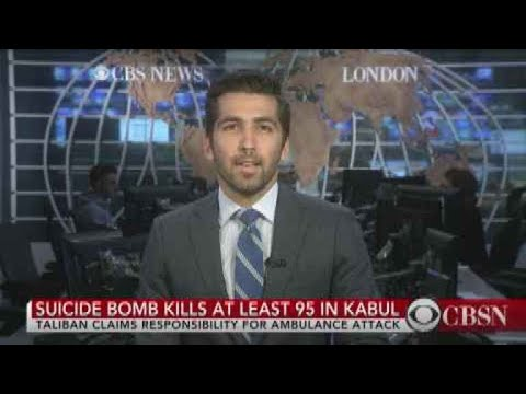 Suicide bomb kills at least 95 people in Kabul
