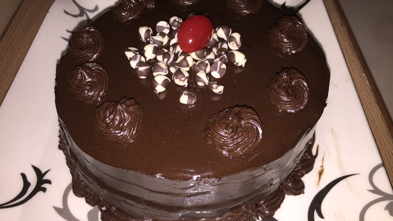 Cup Cake Recipe In Marathi Without Oven: Chocolate Truffle Cake Recipe