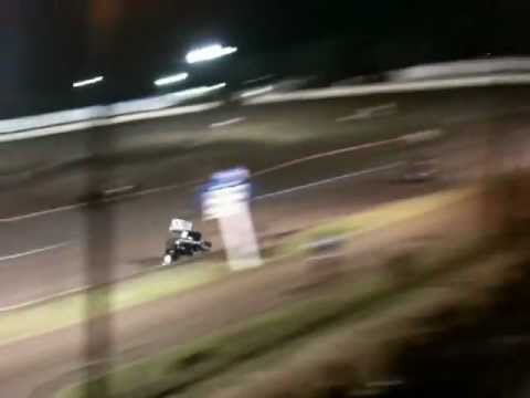 Anton Hernandez @ Cowtown Speedway in 600cc Restrictor 09-22-12