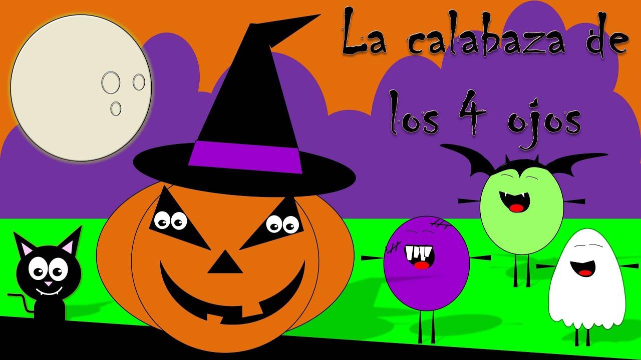 Cuento de halloween para ni os la calabaza de 4 ojos - Decorar calabazas para halloween infantiles ...