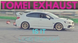 homepage tile video photo for Tomei Expreme Ti Exhaust w/Grimmspeed J-Pipe   2016 Subaru WRX...