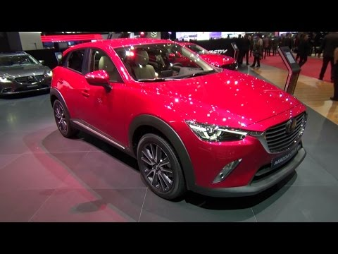 2018 Mazda Cx 3 Exterior And Interior Geneva Motor Show 2017 Youtube