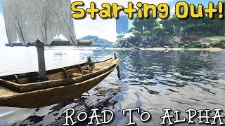 ARK:Survival Evolved  Xbox One - PRIMITIVE PLUS ROAD TO ALPHA - STARTING OUT [ 1 ]