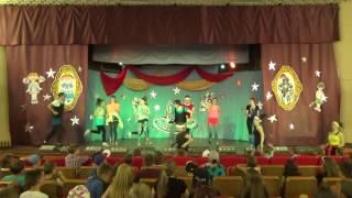 "Don't stop the music - Аэробика - Вожатые - 2 смена 2016 - ДОЛ ""Голубое озеро"""