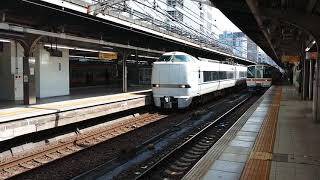 681系特急しらさぎ号名古屋発車 2021年4月9日