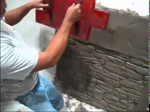 Diy Concrete Stamping Made Easy Youtube