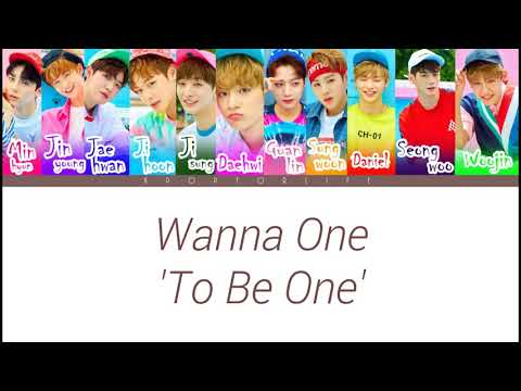 Free Download Wanna One 'to Be One (intro)' Color Coded Lyrics Mp3 dan Mp4