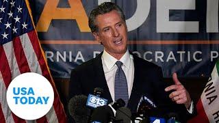 California Governor Gavin Newsom beats recall vote in California   USA TODAY
