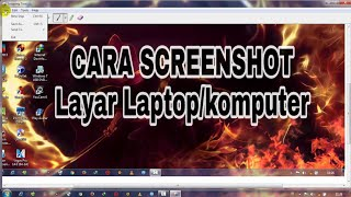 Cara Screenshot Layar Komputer/laptop Dengan Snipping Tool Tanpa Instal Aplikasi Terbaru