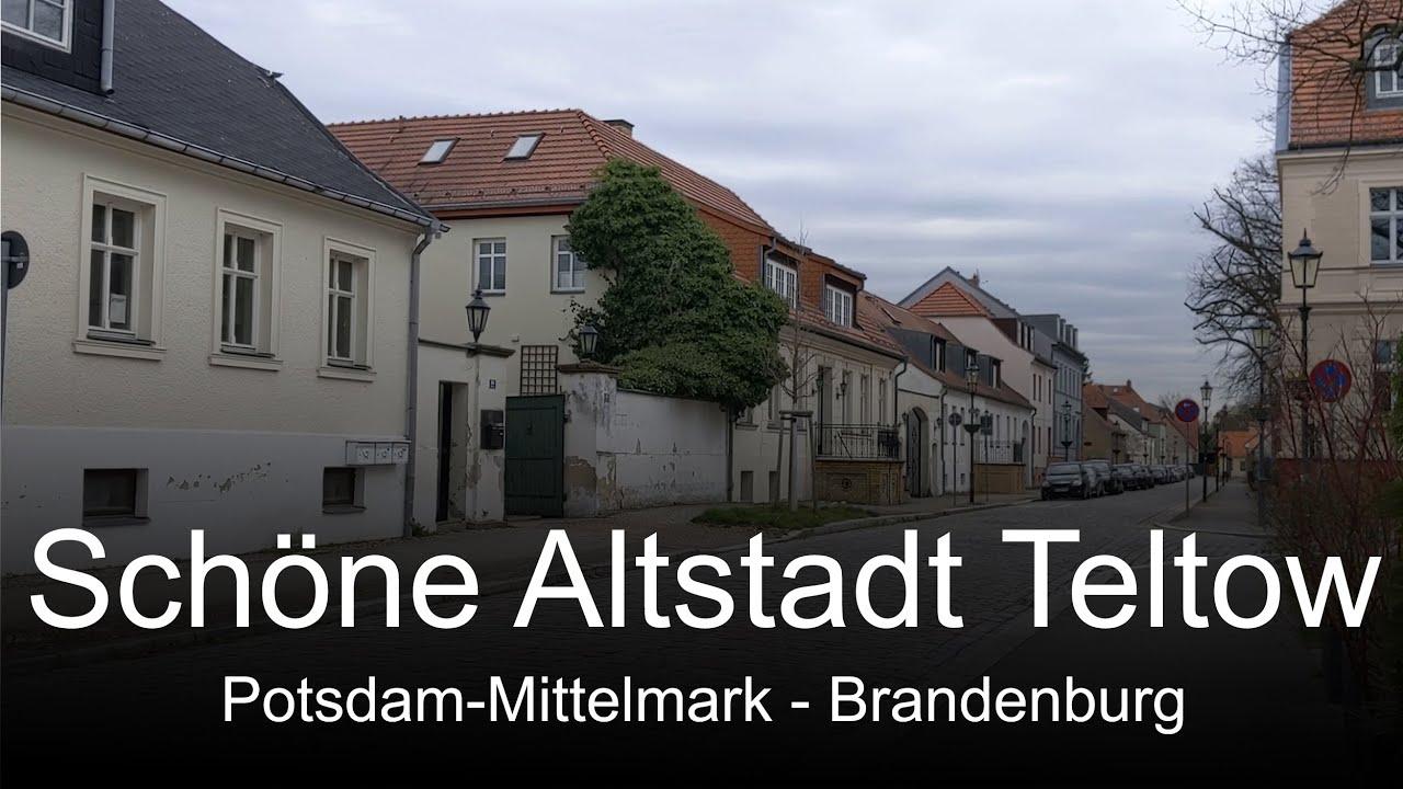 Download SPAZIERGANG IN TELTOW / BRANDENBURG - Schöne historische Altstadt lädt zum Flanieren ein