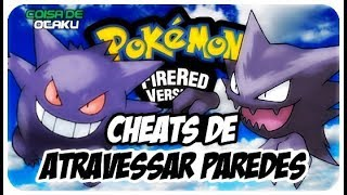 POKEMON FIRE RED CODIGOS ATRAVESSAR PAREDES