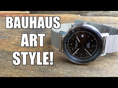 Sternglas Topograph Black-Silver Automatic Watch Review - Perth WAtch #188
