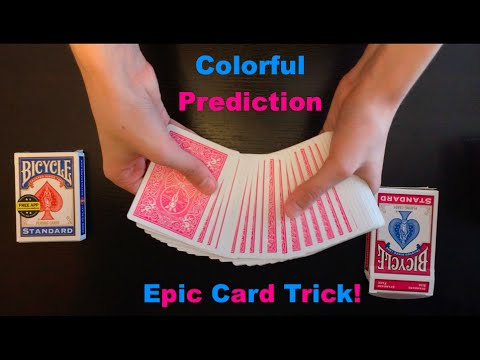Colorful Prediction Epic Card Trick Revealed!