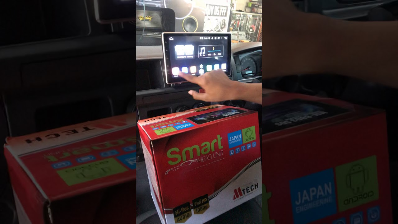 Head unit mtech android