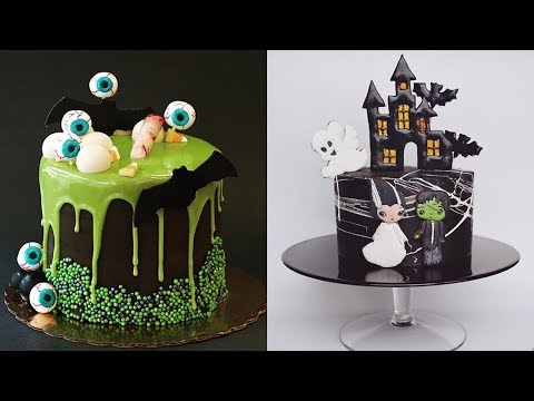 MORE AMAZING HALLOWEEN CAKES COMPILATION!