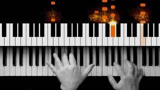 Nils Frahm - Hammers   Piano Tutorial