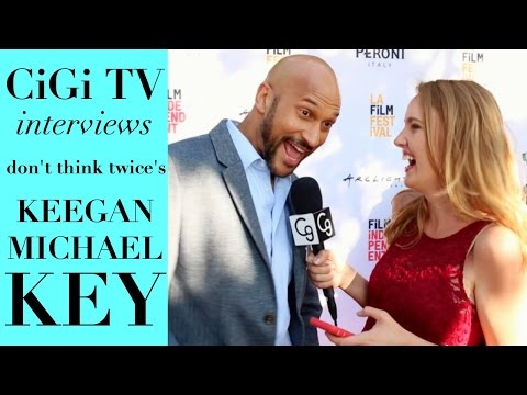 "Keegan Michael Key Talks New Movie ""Don't Think Twice,"" Career, & Comedy!"