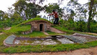Building more swimming pool for greatness underground house ( Hobbit House )