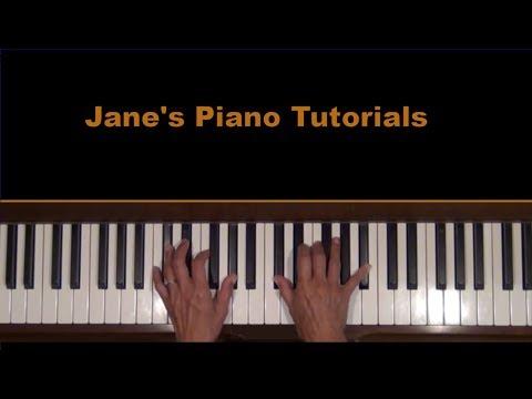 JAMBALAYA Piano Solo arr. Tutorial