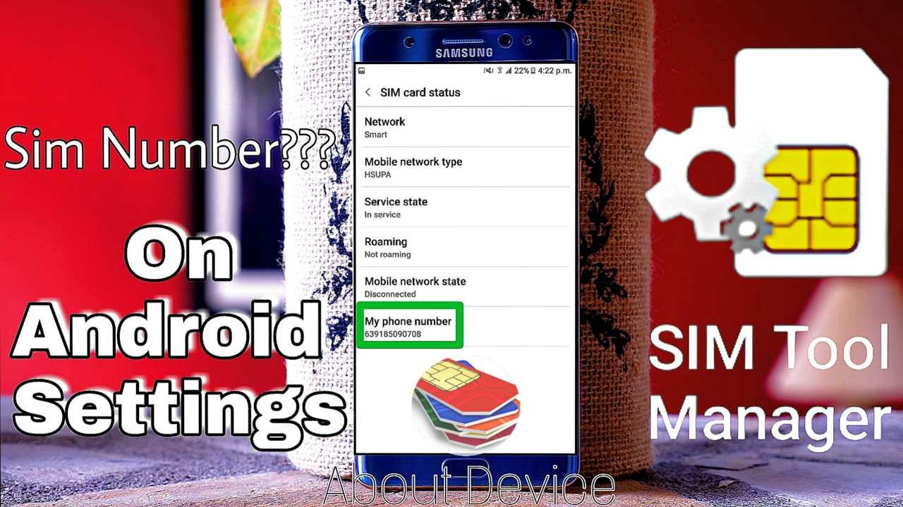 How to Get Sim Card Number[Phone Number] on Android/Offline/About Device