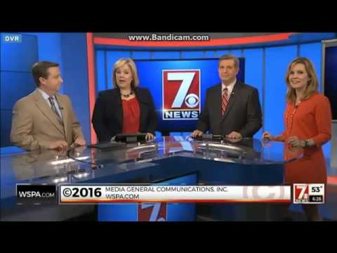 WSPA: 7 News At 6pm Close--02/16/16 (New Graphics & Logo))