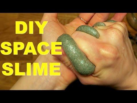 WEIRD SPACE SLIME TUTORIAL (Gross!)