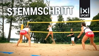 Beachvolleyball-Training: Die richtige Fußarbeit im Sand