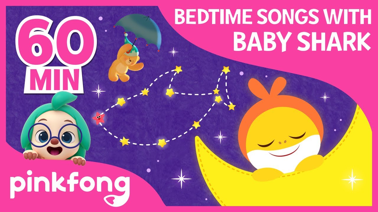 Bedtime Songs with Baby Shark  | +Compilation | Pinkfong Songs for Children