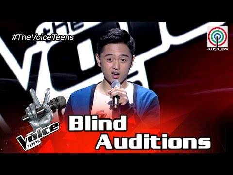 The Voice Teens Philippines Blind Audition: Jeremy  Glinoga - Ikaw