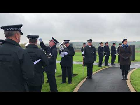 Abide with Me, Emma Brown, West Yorkshire Police Band, Irish Peace Park