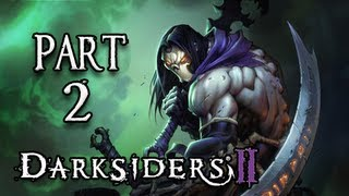 Скачать Darksiders 2 Walkthrough Part 2 The Tri Stone Let S Play PS3 XBOX PC Gameplay Commentary