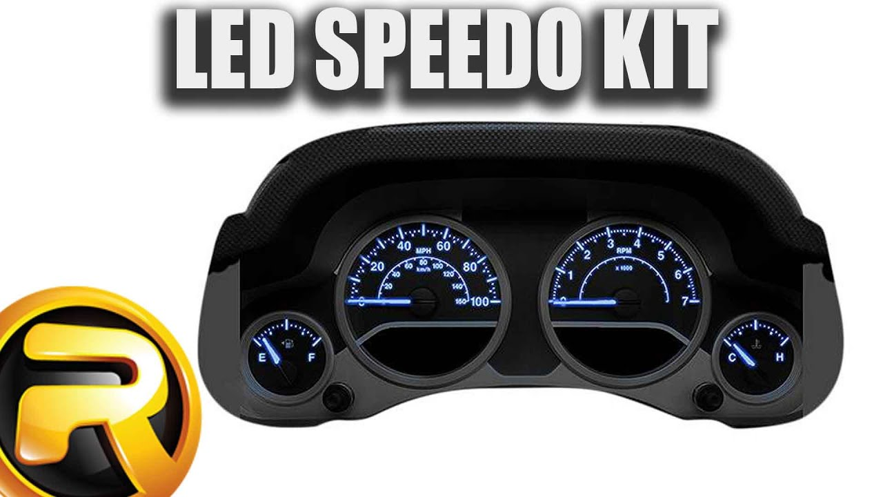 medium resolution of how to install us speedo led instrument cluster kit