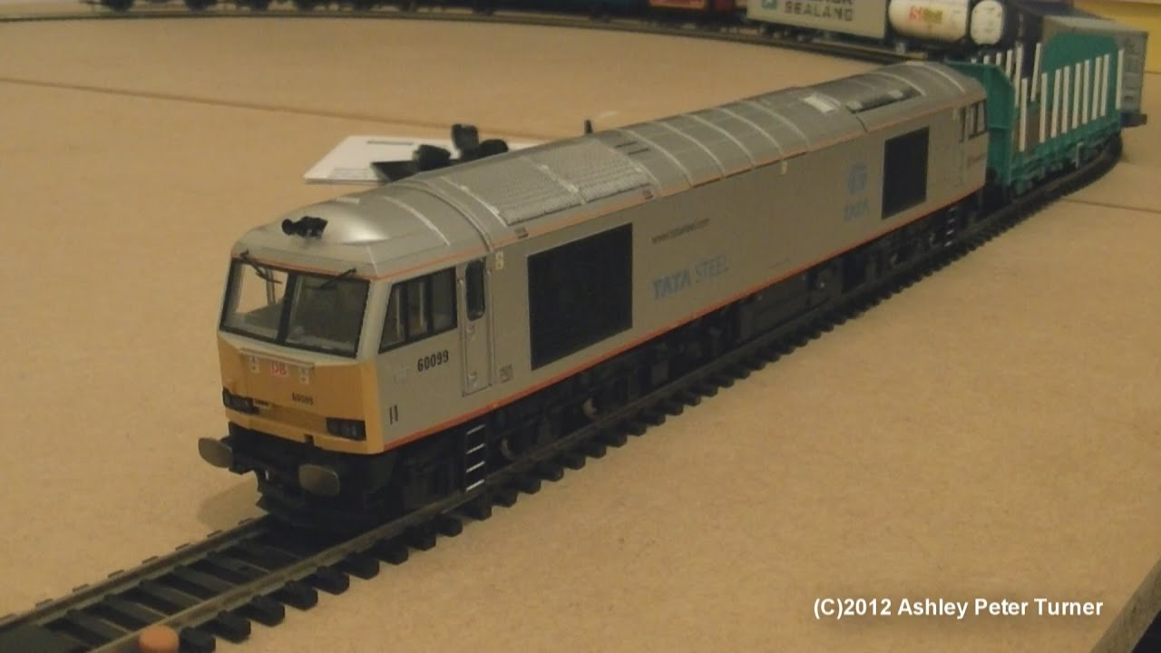 Hornby R3141 Class 60 Diesel Locomotive 60099 Db Schenker