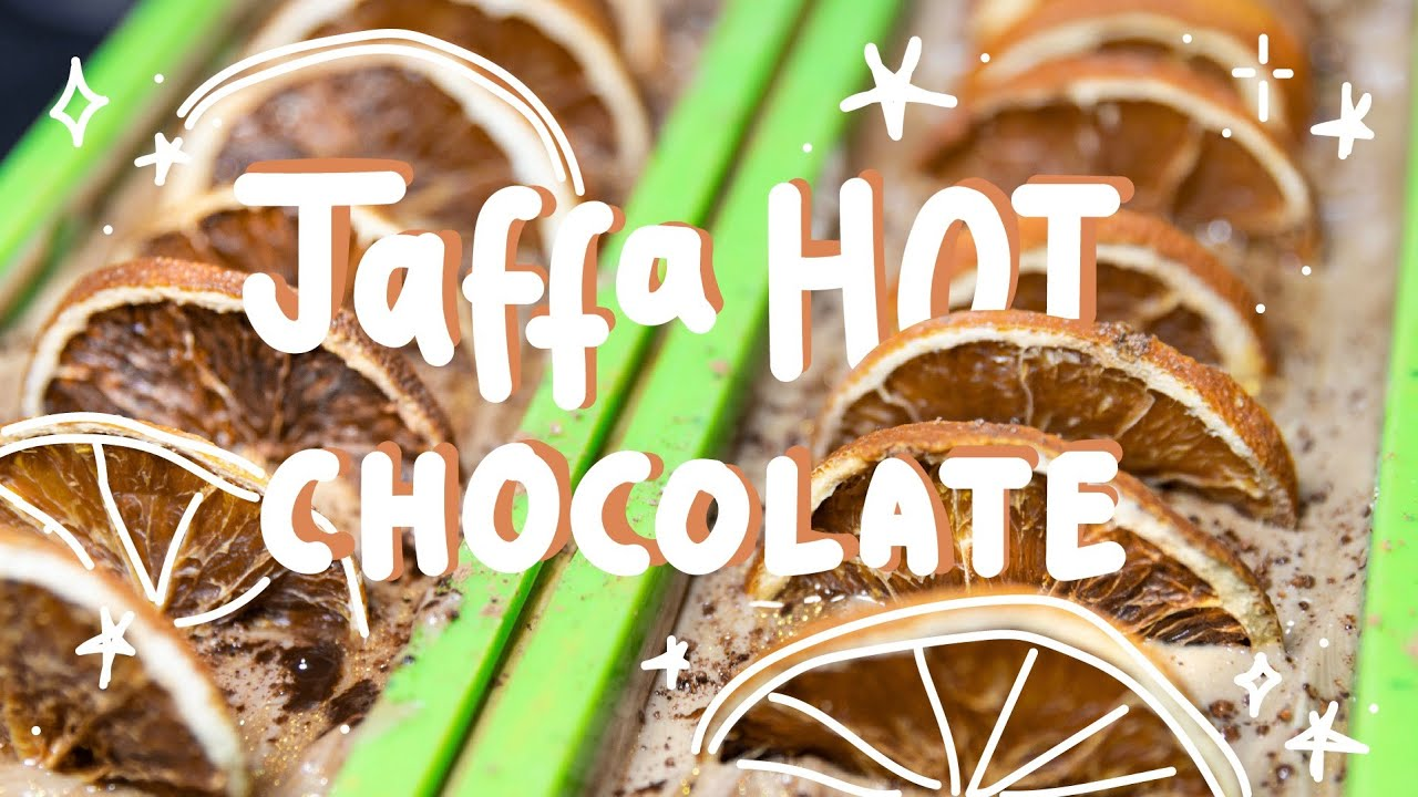 How it's Made: Jaffa Hot Chocolate Soap