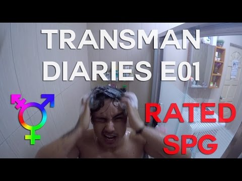 Transman Diaries - Episode 1 (dogs, showers, & baking)