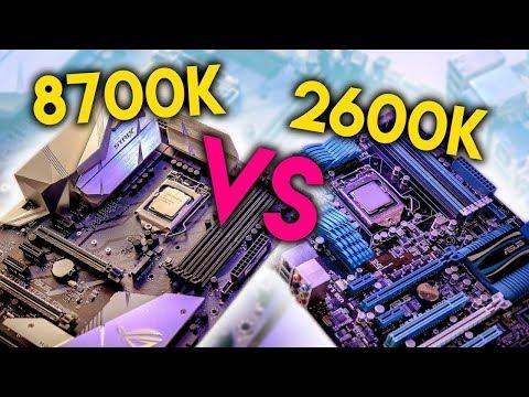 Intel i7-8700K vs i7-2600K - FINALLY Time to Upgrade Sandy Bridge?