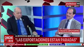 Economia Argentina: Spotorno con Chiche 2019 Crónica TV 03 12 19