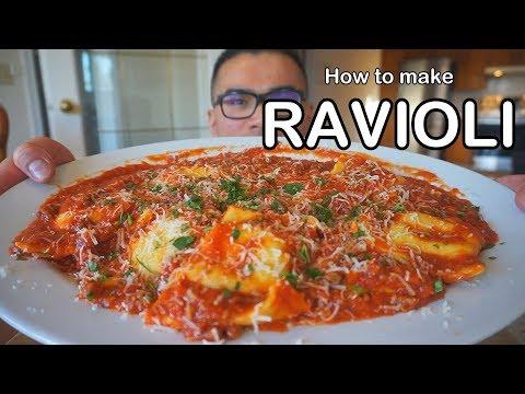 How to make RAVIOLI - BEEF RAVIOLI
