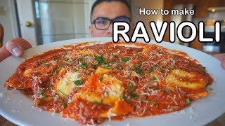 How to make RAVIOLI - BEEF RAVIOLI