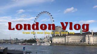 [VLOG]  런던 여행 브이로그 1탄 London V…