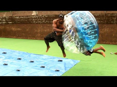 SLIP AND SLIDE MOUSETRAP DEATHBALL CHALLENGE w/TGFBRO