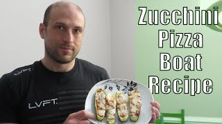 The Cooking Show | Homemade Zucchini Pizza Boat Recipe | Lunch/Dinner Idea | Ep. 4