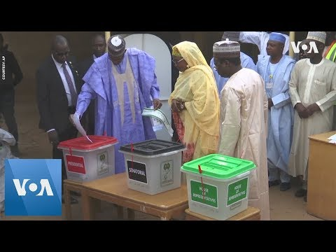 President Muhammadu Buhari Votes in Hometown
