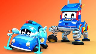 Truk super Truk super, bayi mobil hilang Kota Mobil - Kartun truk untuk anak-anak